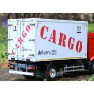 Carrosserie fourgon de 370mm pour camion rc 1/14 LabModel VA00004 - VA00004370