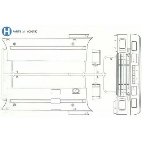 Grappe H Volvo 56312
