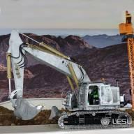 Excavatrice Hydraulique Compacte Lourde RC LESU ET35 1/14 réf : BA-B0006
