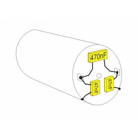 Lot de 6 condensateurs antiparasites