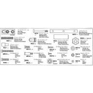 Sachet de pièces métal C pour remorque Pole Trailer 56310