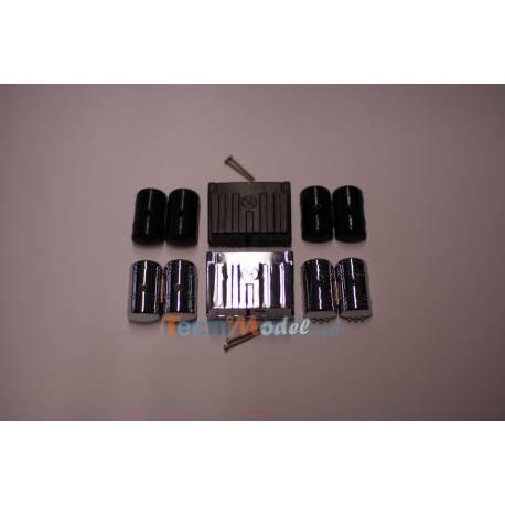 Bloc batterie avec réservoir d'air comprimé