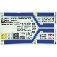 Planche adhésifs Globe Liner