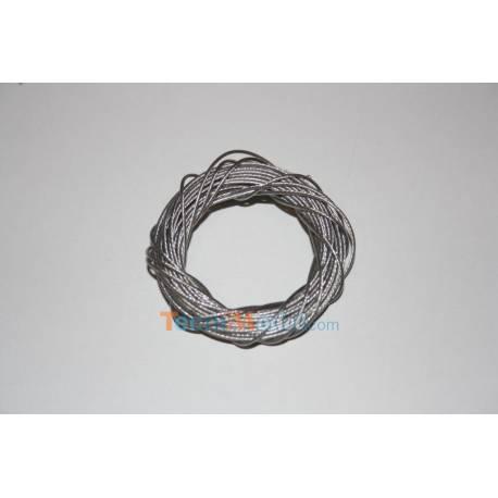 CABLE acier inox 0,7mm / 5 mètres