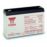 Batterie plomb 6v 12Ah Yuasa NP12-6