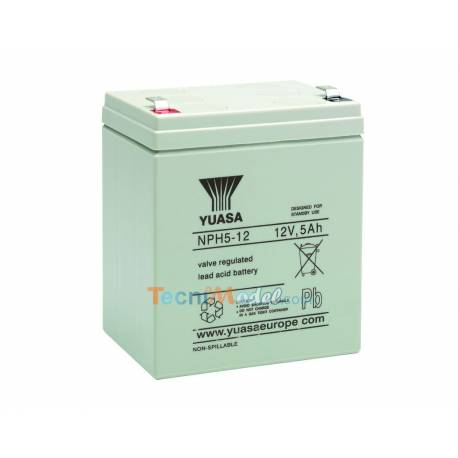 Batterie plomb 12v 5.2 Ah Yuasa NPH5-12