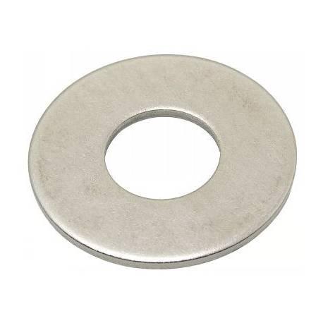 Rondelle M 4 Zinguée blanc NFE 25513 (Par 50)