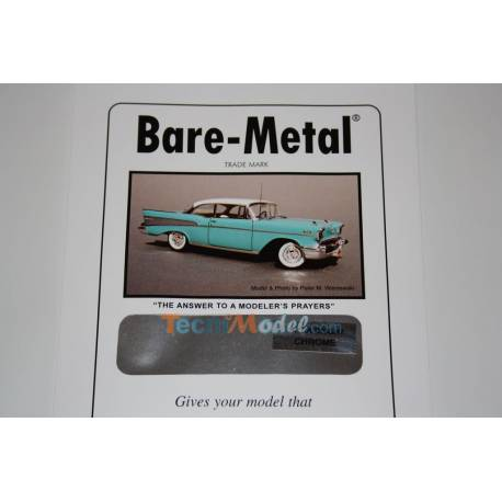 1 Feuille Bare Metal Ultra Bright Chrome