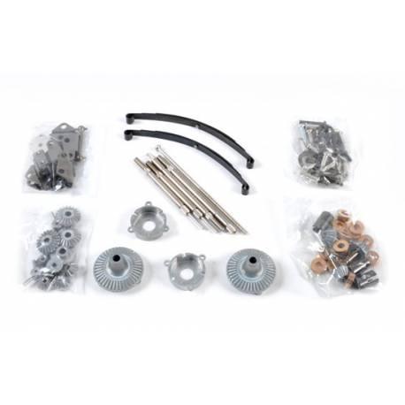 Sachet C de pièces metal pour essieux 6x4