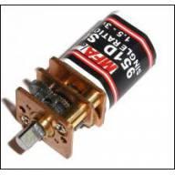 Micro motoréducteur 6v 10:1 1500tr/mn