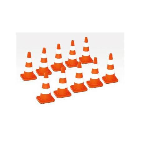 10 Cones de chantier