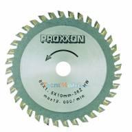 Lame à plaquettes carbure 36 dents pour bois-tendre-plastique-alu Proxxon 28732