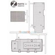 Grappe Z pièces MFU Actros et MAN 4x2 Tamiya
