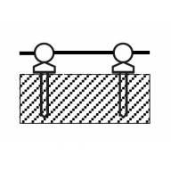 10 Passages de filières 2.5 mm