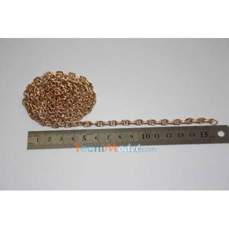 Chaine métal 5.8mm 1m Aero-Naut 562735