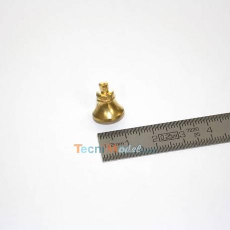 1 Cloche en laiton Ø12mm