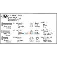 Sachet de vis BA Scania R470 Ref Tamiya 9465705