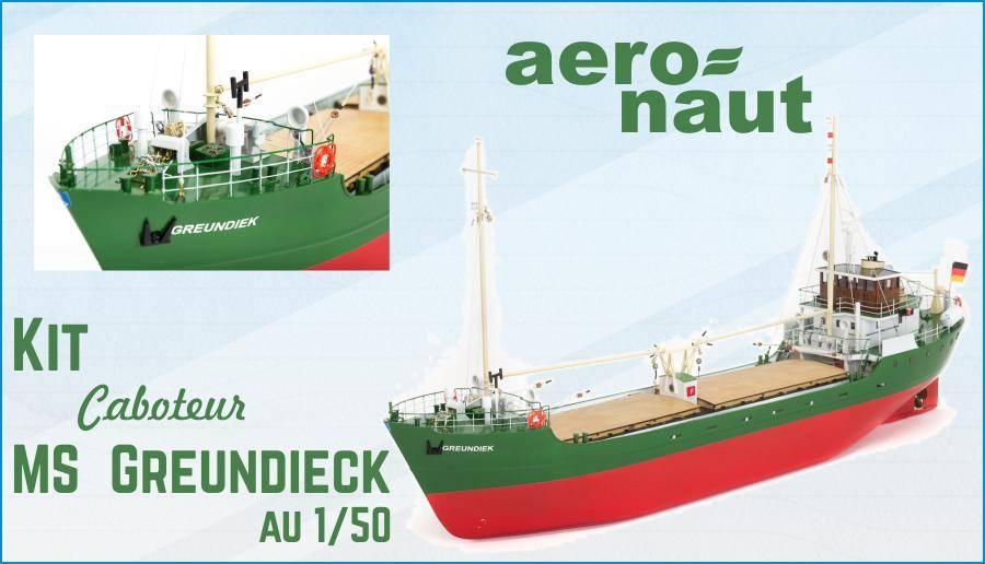 Caboteur MS Greundiek de Aero-Naut 1/50
