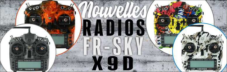 Nouvelles radios FR SKY