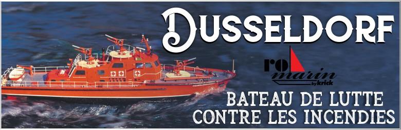 Le bateau-pompe Düsseldorf est de retour