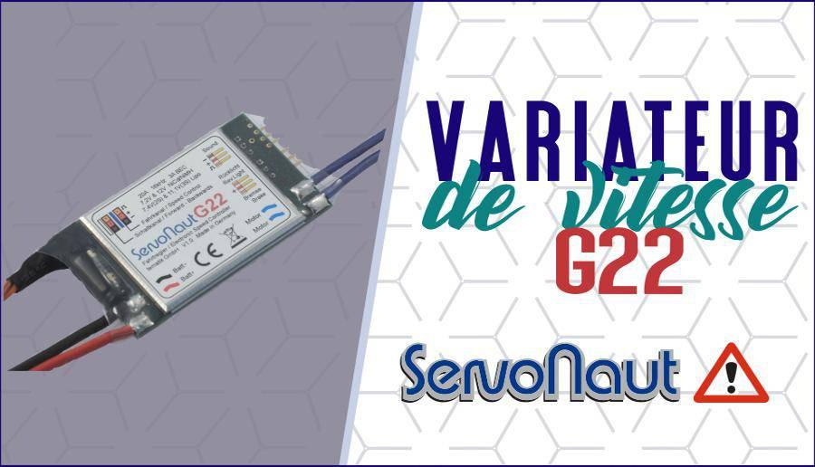 Nouveau variateur camion Servonaut G22