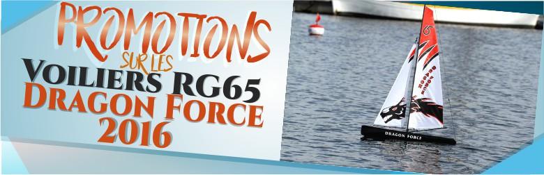 PROMOS sur les voiliers Dragon Force