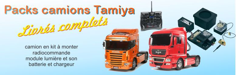 Packs camion Tamiya complet