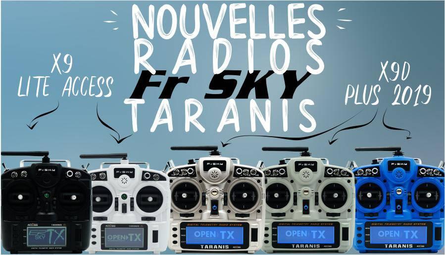 Nouvelles radios FR-SKY Taranis