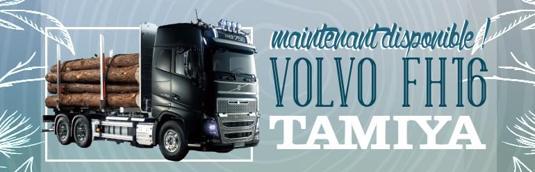 Les camions Tamiya Volvo FH16 750 sont arrivés !