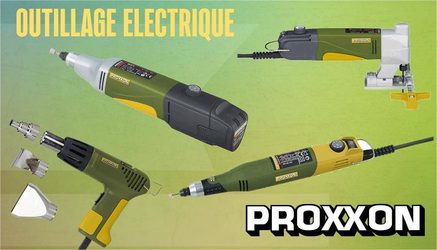 Outillage électrique PROXXON