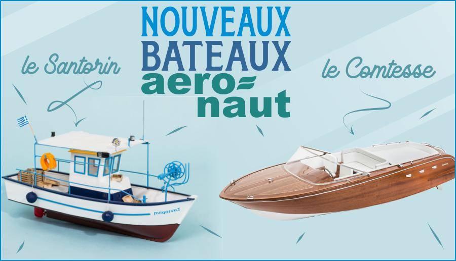 Nouveaux bateaux !