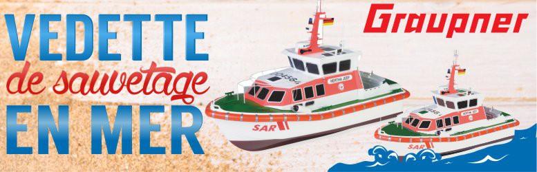 Nouveaux bateaux Graupner