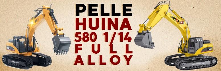 Pelle Huina 580 1/14 FULL ALLOY 23Ch 2.4Ghz CY1580