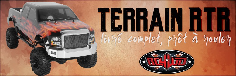 RC4WD Terrain RTR Truck Kit w/ Crusher Body Set