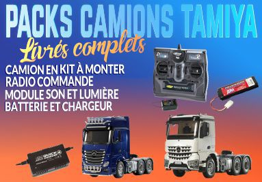 Packs camions Tamiya