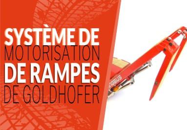 Système de motorisation de rampes de Goldhofer
