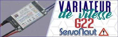 Nouveau Variateur Servonaut G22 pour camions radiocommandés